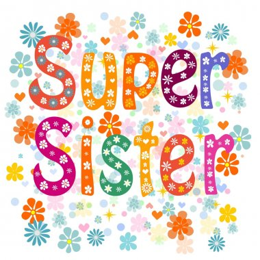 Super sister birthday