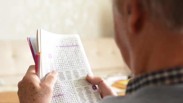 Old man (senior - elderly) - crossword puzzle (resolve puzzle)
