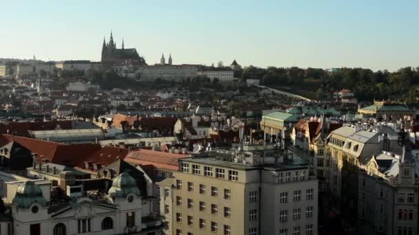 City (Prague) - urban buildings - roofs of buildings - Prague Castle (Hradcany)