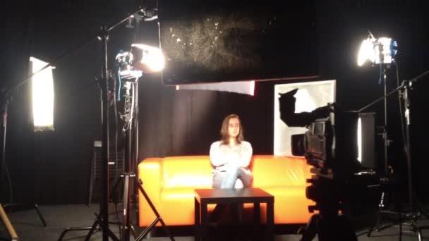 Film production - behind scenes - lighting