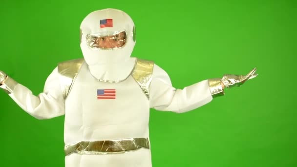 Űrhajós nem értem - zöld képernyő