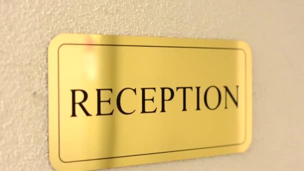 Znamení - recepce - hotel