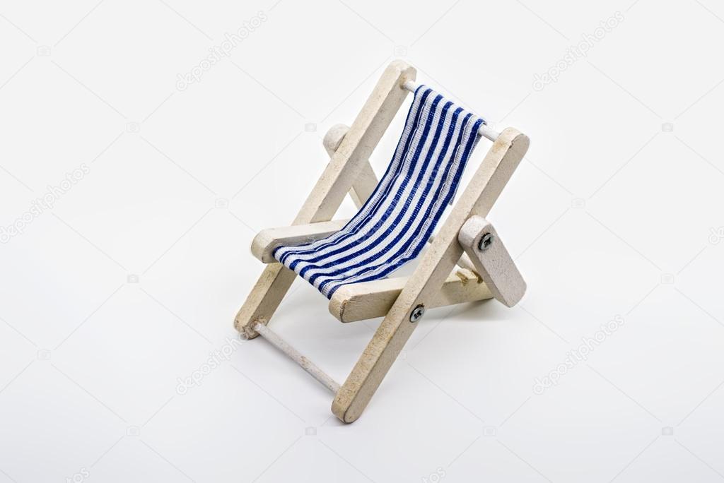 Vintage Folding Beach Chairs Small Vintage Beach Chair Stock Photo C Bain 54508633