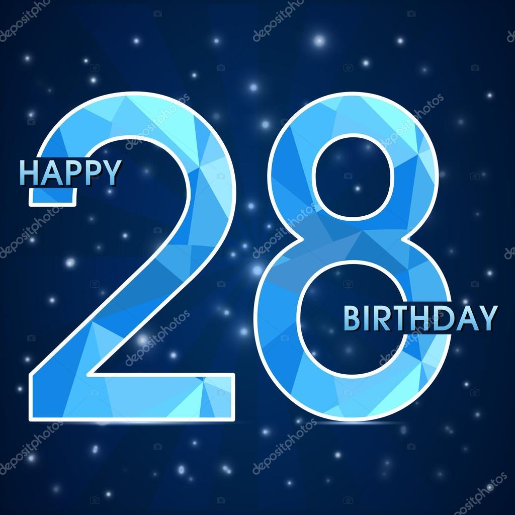 Поздравления 28 лет для мужчины