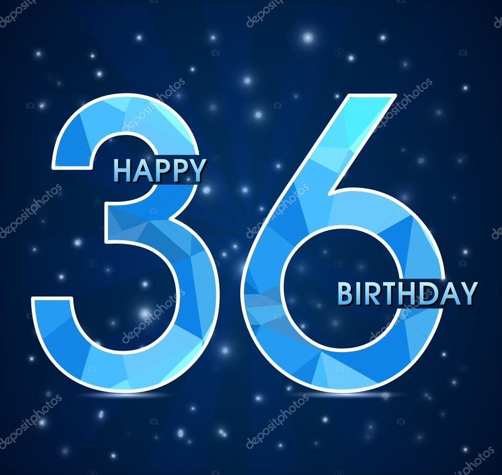 36 лет день рождения картинки, открытки поздравления новым