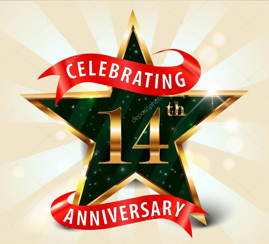 Áˆ Happy 14th Wedding Anniversary Stock Images Royalty Free 14th Anniversary Vectors Download On Depositphotos