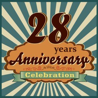 28 years anniversary
