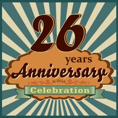 26 years anniversary