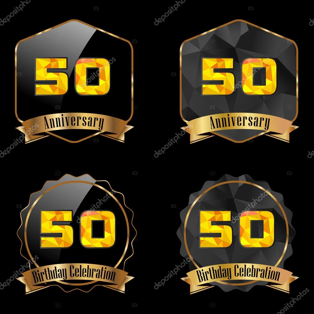 oslava narozenin 50 Oslava narozenin 50 let — Stock Vektor © atulvermabhai #59444565 oslava narozenin 50