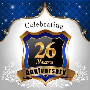 Celebrating 26 years anniversary