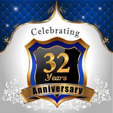Celebrating 32 years anniversary