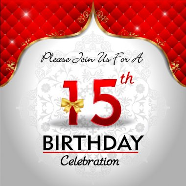 Celebrating 15 years birthday