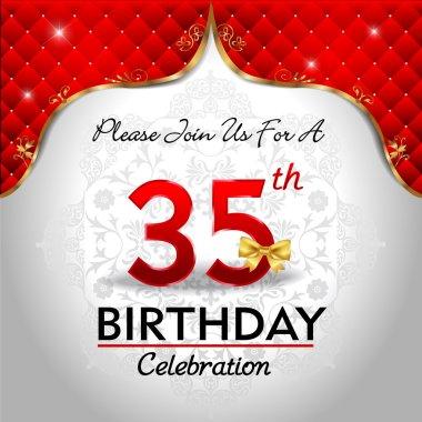 Celebrating 35 years birthday