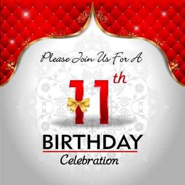 Celebrating 11 years birthday