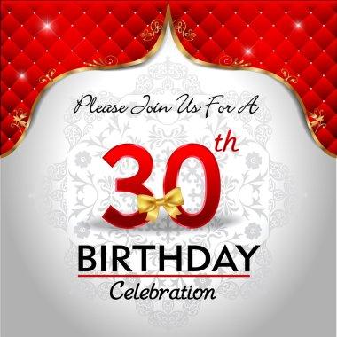 Celebrating 30 years birthday