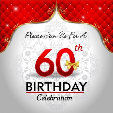 Celebrating 60 years birthday
