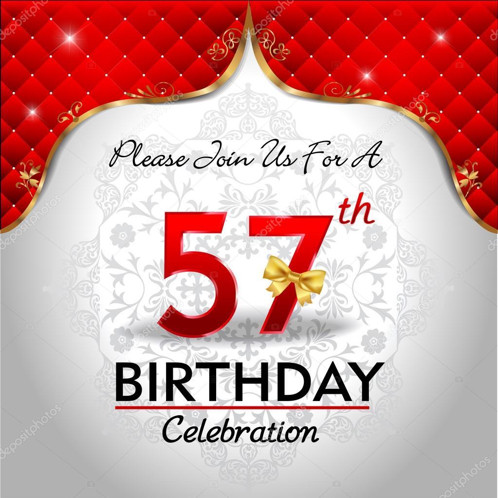verjaardagswensen 57 jaar
