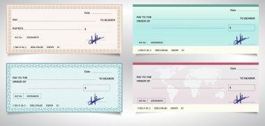 BANK CHECK, bank cheque