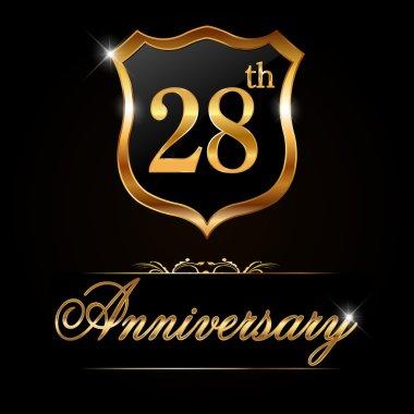 28 year anniversary golden label