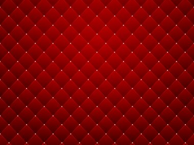 Red texture, seamless diamond pattern background