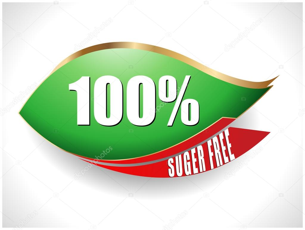 100 percent sugar free text with leaf symbol vector eps10 stock 100 percent sugar free text with leaf symbol vector eps10 stock vector buycottarizona Image collections