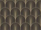 Vintage starožitný paleta bezešvé art deco tapeta vzor vektor