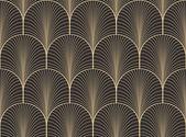 Alte antike Farbpalette nahtlose Art Déco Tapete Muster Vektor