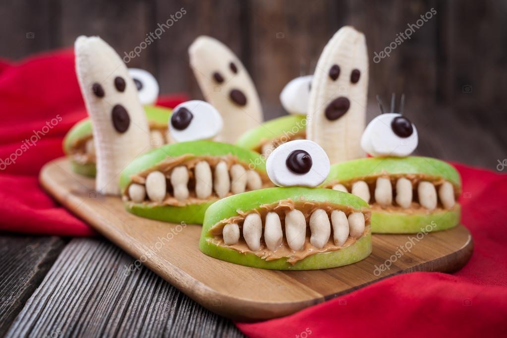 halloween spöken recept