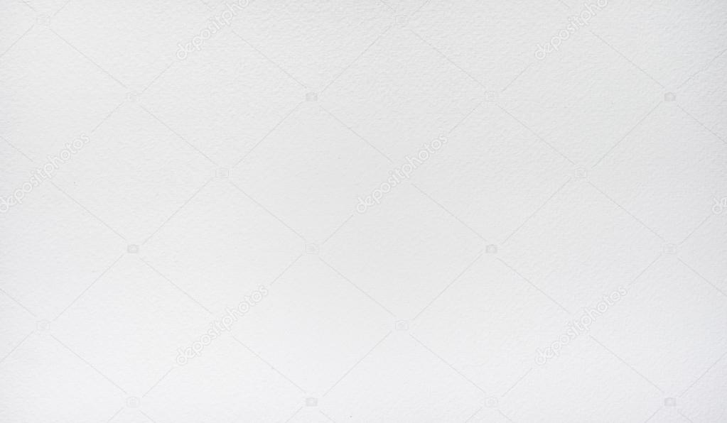 White watercolor paper texture background — Stock Photo