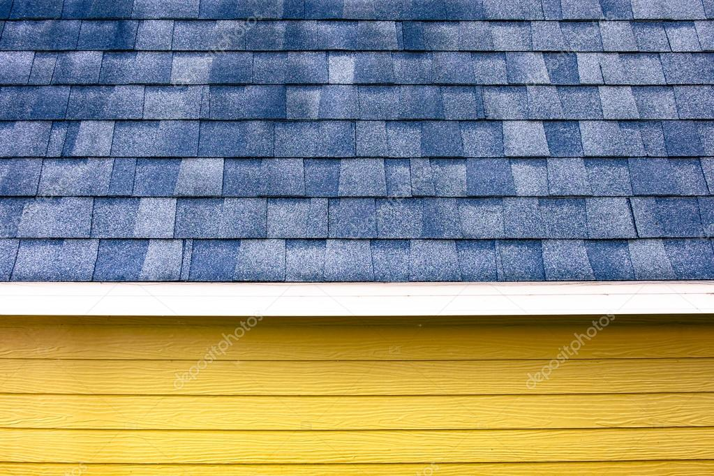 close up roof scale tile and wooden plank wall ,texture backgrou