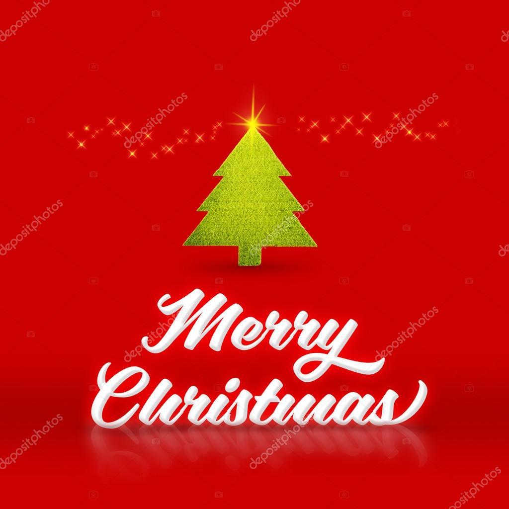Inicio Feliz Navidad.Blanco Palabra Feliz Navidad Y Arbol De Navidad Con Espumoso