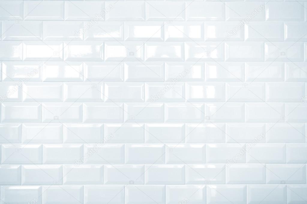 White Ceramic Brick Tile Wall Background Stock Photo C Weedezign