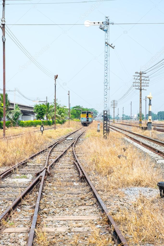 Freie Gleis weg Schalter — Stockfoto © weedezign #77582406