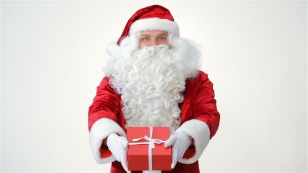 Santa claus üzem és a felajánlás egy ajándék