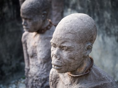 Sculptures of slaves, Zanzibar