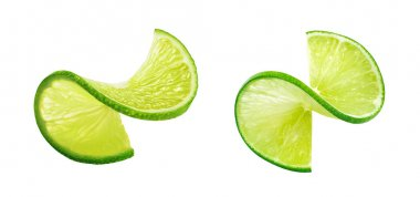 Lime slice twist