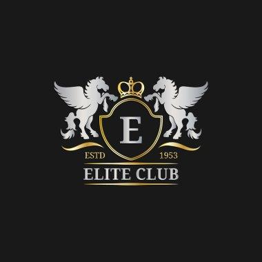 monogram logo template