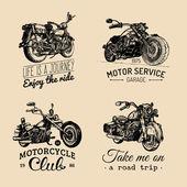 Fotografia Chopper motorcycle logos