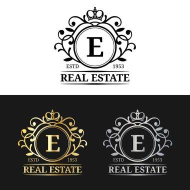 real estate monograms logos