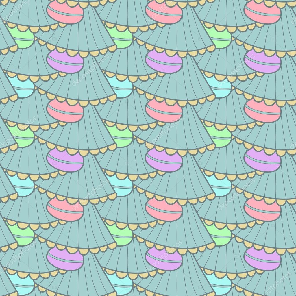seamless pattern in gentle colors