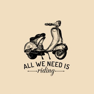 All we need is riding.