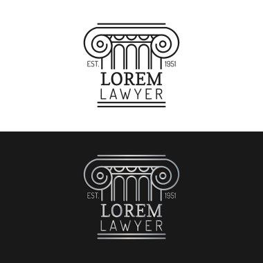Law office logo.