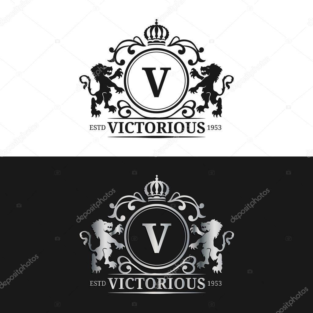 Monogramm Logo Vorlage — Stockvektor © vladayoung #87207446