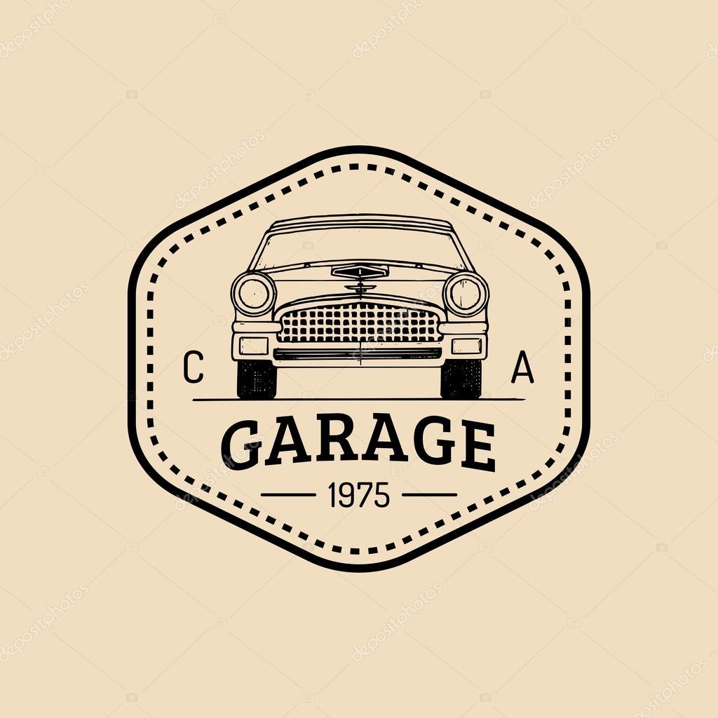 car logo garage logo � stock vector 169 vladayoung 87207592