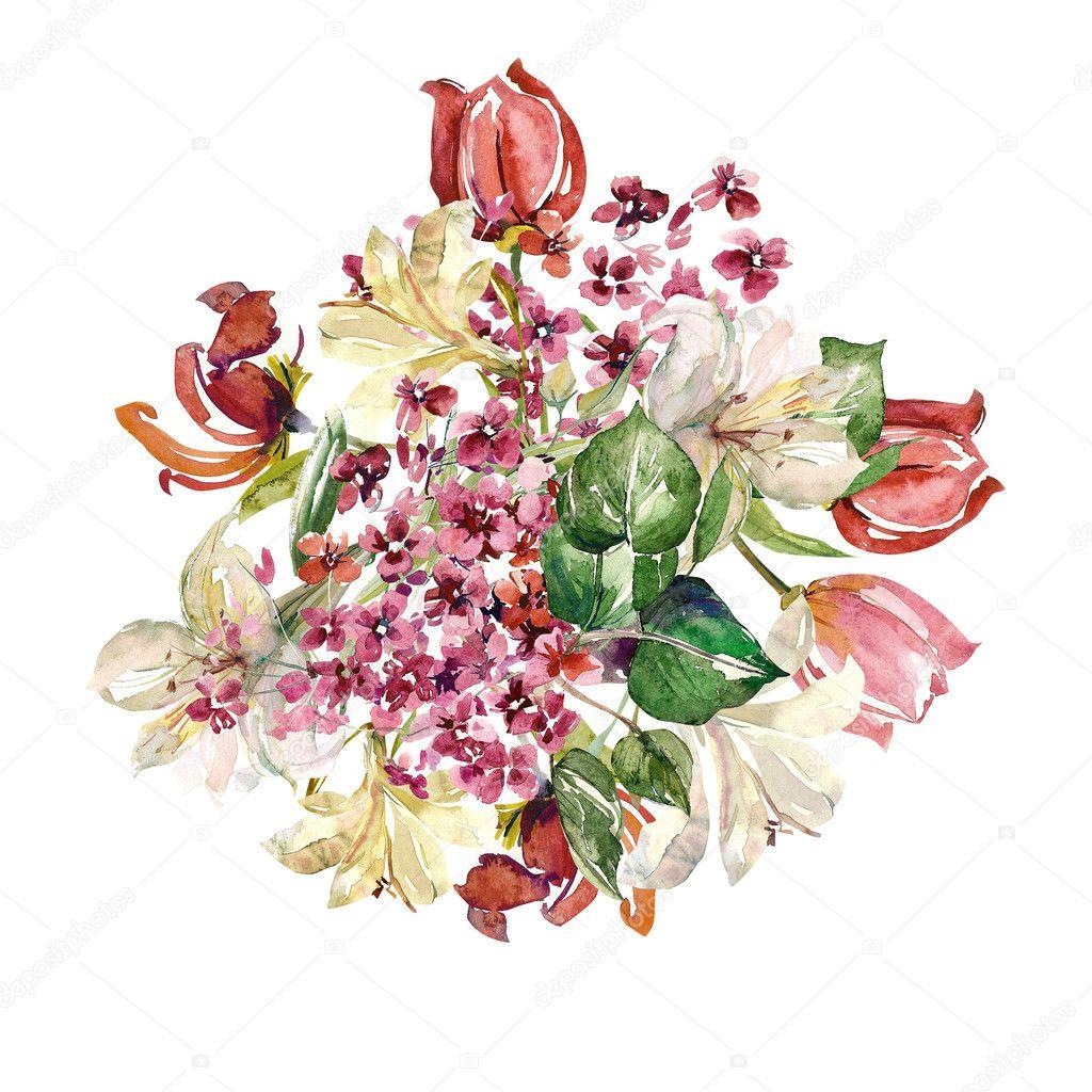 芸術的な花のイラスト ストック写真 Svemar 63089477