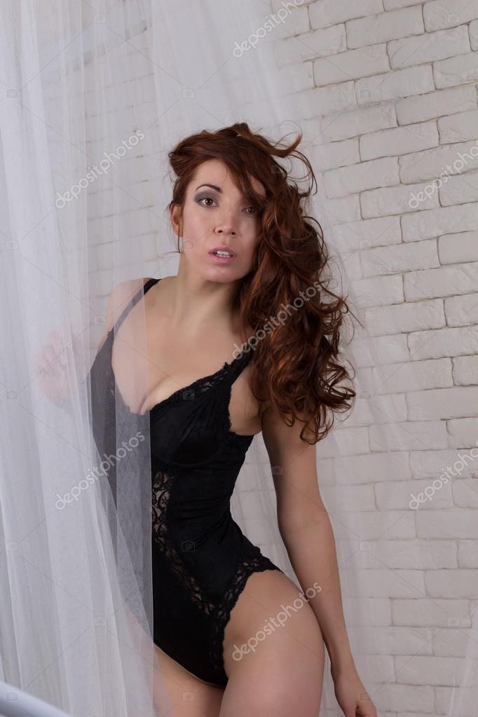 c720cd4bf Mulher sedutora em roupas íntimas — Stock Photo © vika-pavlyuk  95171584