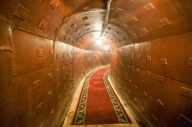 russian underground tunnel