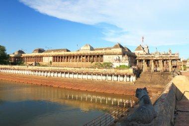 massive ancient temple complex chidambaram tamil nadu india
