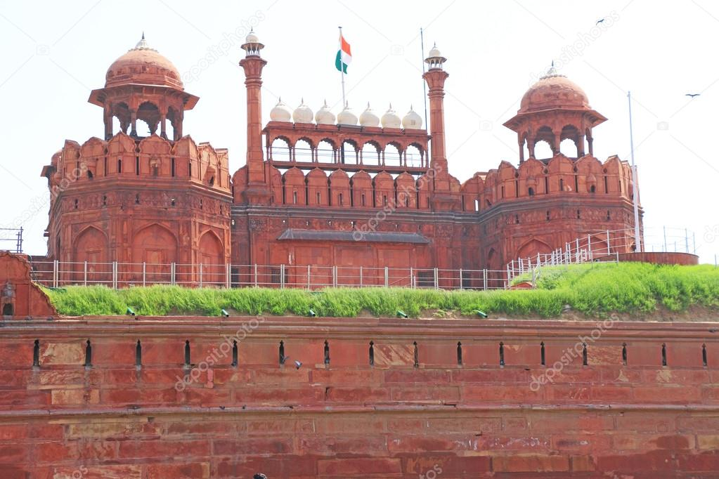 Red fort delhi Stock Photos, Illustrations and Vector Art | Depositphotos®