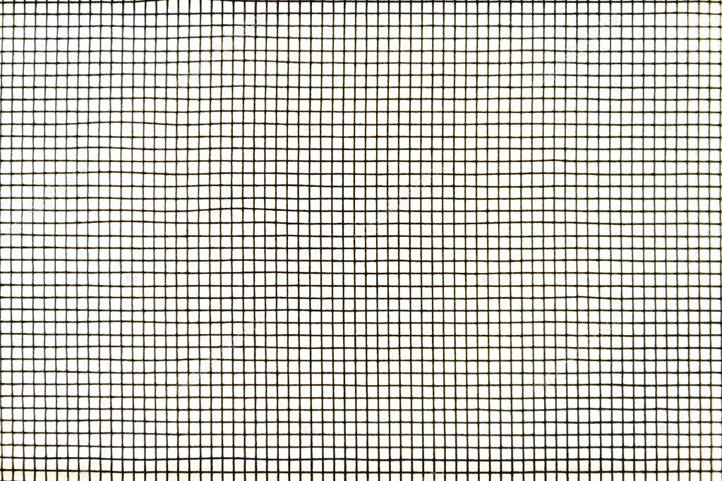 Mosquito wire screen texture on the window — Stock Photo © edlits ...